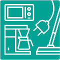ikon för elektronik